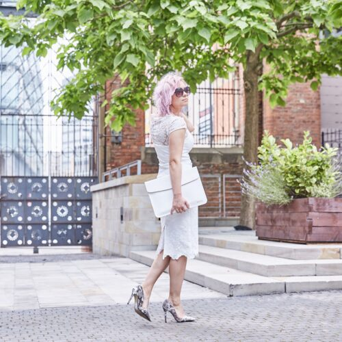 chi chi london white dress
