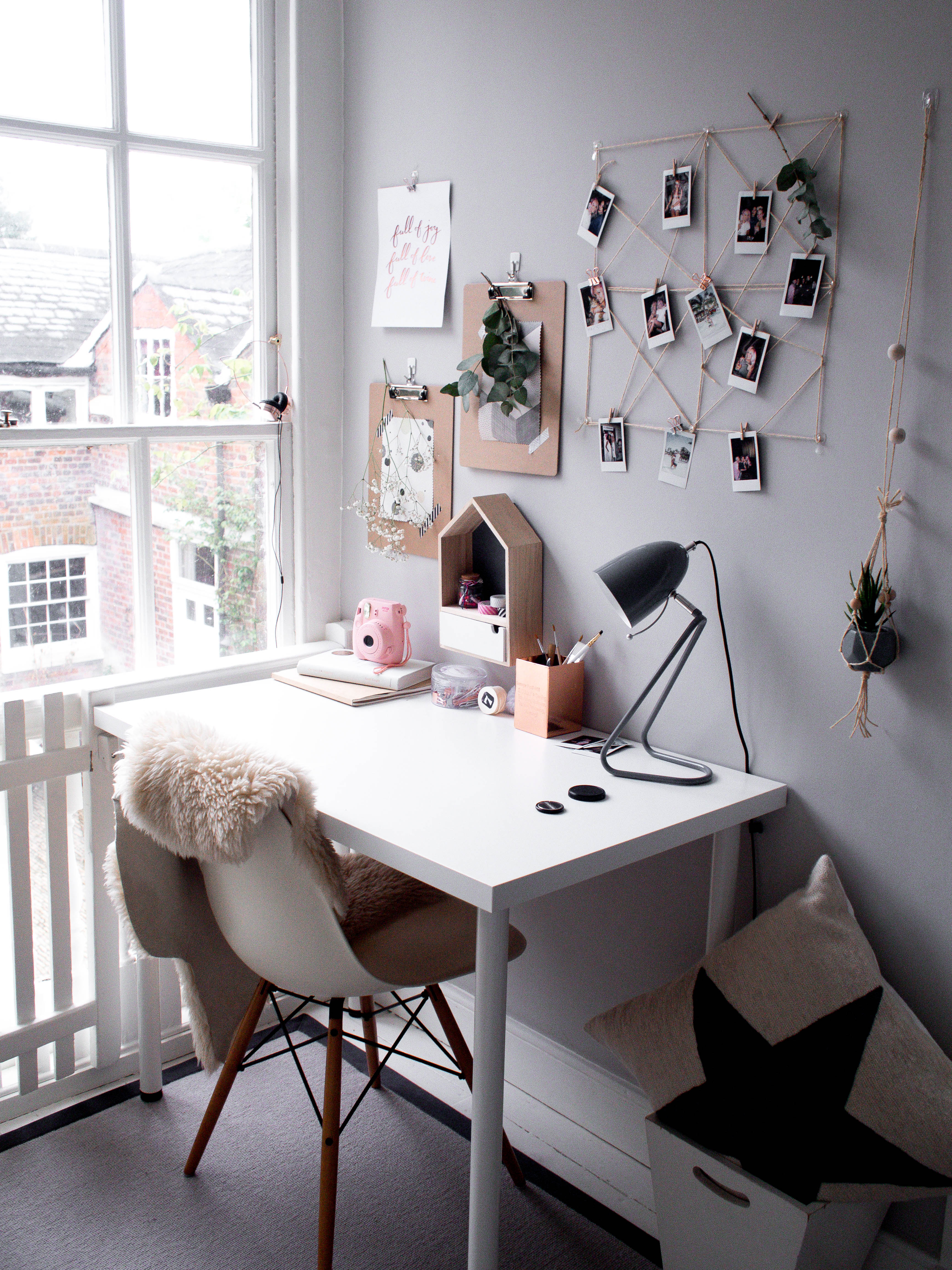 Scandinavian home office inspiration for renters and ...