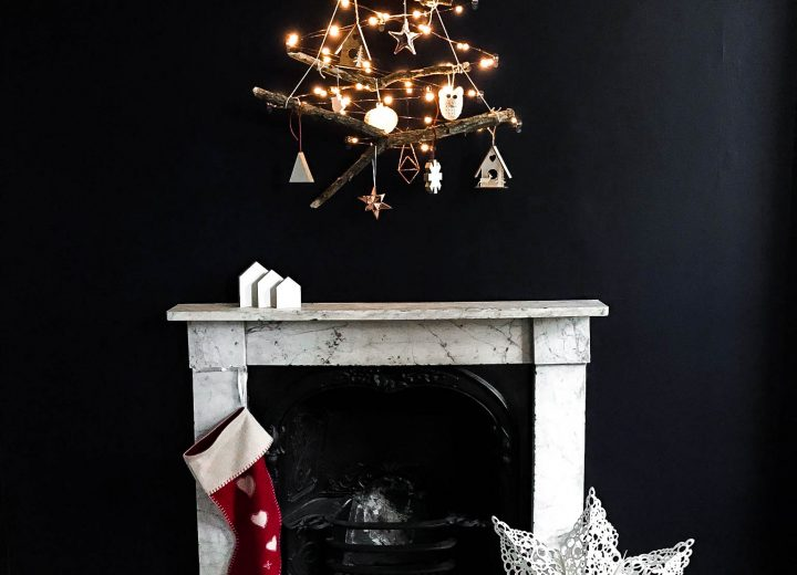 Bring Hygge to your home with a Scandinavian Wall Christmas tree using Command Brand