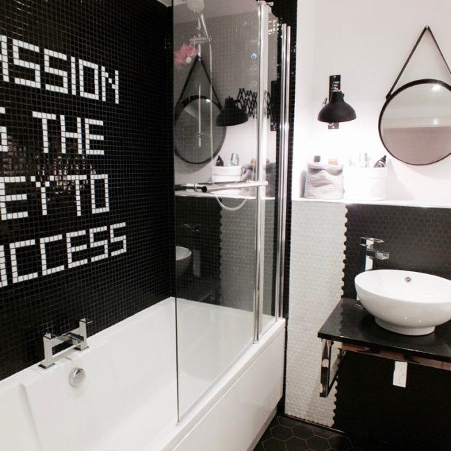 mosaic bathroom