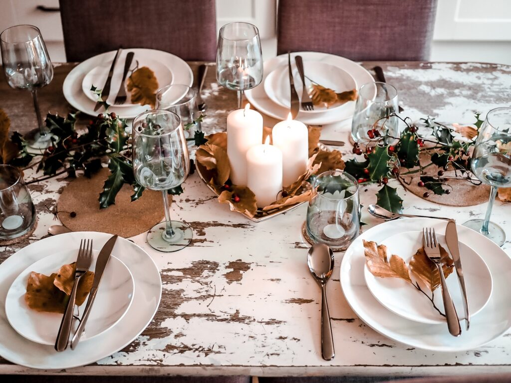 Styling Your Autumn Table On A Budget With A Marble Dining